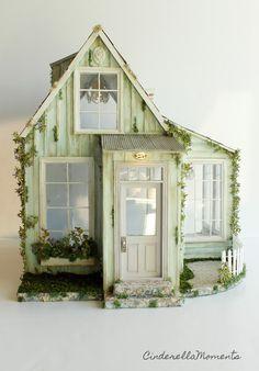 Cinderella Moments: Whispering Brook Cottage Dollhouse Finished