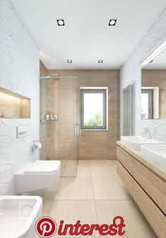 On the property market: dream bathrooms Bathroom Design Layout, Bathroom Design Luxury, Modern Bathroom Design, Laundry In Bathroom, Small Bathroom, Master Bathroom, Bathroom Ideas, Zen Bathroom, White Bathroom