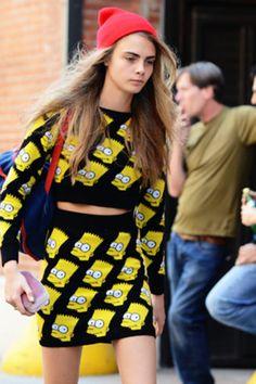 Bart Simpson Sweater Dress,  my fav in my closet