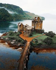 The incredible 13th century Eilean Donan Castle in the Highlands of Scotland Michael Block