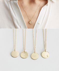 Moonlight Collections Kayla Necklace Silver 925 Pendants Personalized Monogrammed Name Plates