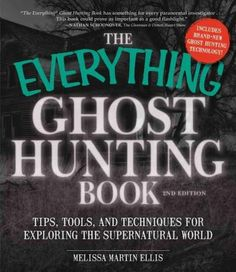 All you need to track and record paranormal activity! Ectoplasm...cold spots...orbs...everyone loves a real-life ghost story! Ghosthunter Melissa Martin Ellis takes you on an exciting journey into the