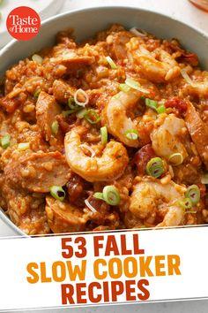 53 Fall Slow Cooker Recipes - #53 #Cooker #Fall #Recipes #Slow Slow Cooking, Cooking Recipes, Healthy Recipes, Ketogenic Recipes, Grilling Recipes, Cooking Steak, Cooking Chef, Dog Recipes, Meatloaf Recipes