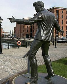 Billy Fury Liverpool STATUES & SCULPTURES: Musicians
