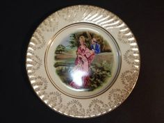 Estate Find - Vintage Display Plate - Royal Staffordshire Pottery Vintage Display, Plate Display, Vintage Ceramic, My Ebay, Decorative Plates, Pottery, Ceramics, Home Decor, Ceramica