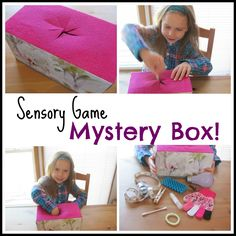 This I feel the kids will love not knowing what is in the box and feeling something on the inside.