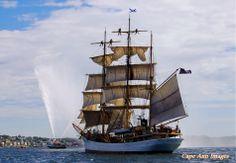 Picton Castle #pictoncastle #TALLSHIP #sail #sailing #sailingship #ocean #sea
