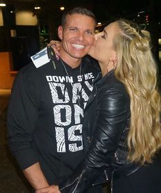 WWE Superstar Natalya (Natalie Neidhart Wilson) and her husband retired WWE Superstar Tyson Kidd (TJ Wilson). The couple have been married since June 2013 and have been featured on E! Nxt Divas, Total Divas, Theodore James, Wwe Couples, Tyson Kidd, Wwe Wallpapers, Wrestling Superstars, Cerebral Palsy, Wwe Photos