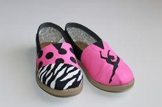 TOMS,TOMS,TOMS!  Hand-painted, custom Dance Toms