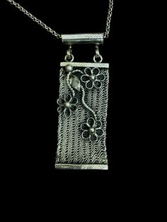 1000K Silver Jewelry '' Trabzon Hasiri '' by LEMANdesignjewelry, $210.00 Wire Jewelry, Silver Jewelry, Artistic Wire, Textiles Techniques, Turkish Jewelry, Metal Belt, Pendant Design, Wire Weaving, Silver Filigree