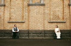 wheelchair, weddings, unique wedding, new zealand weddings, style and bride.  See it. Believe it. Watch thousands of SCI videos at SPINALpedia.com