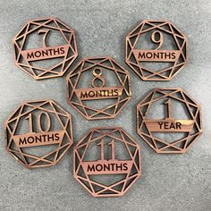Newborn Announcement, Baby Shower Gifts, Baby Gifts, Girl Sign, Laser Cut Wood, Laser Cutting, Baby Gift Hampers, Laser Engraved Gifts, Baby Milestones