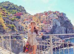 지중해를 품은 친퀘테레 Landscape Pictures, Grand Canyon, Brunch, Italy, Travel, Scenery Paintings, Italia, Viajes, Landscape Photos
