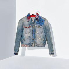 Tommy Hilfiger Denim Jacket - vintage denim/multi - Tommy Hilfiger Jackets - main image