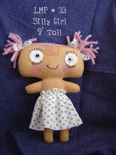 Free Doll Pattern - Crafty Carnival #doll #crazyeyes