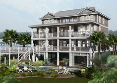 CRG Oceanfront custom design and construction underway in Garden City, SC.