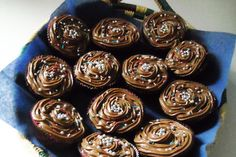 Marias chokladmuffins med chokladsmörkräm