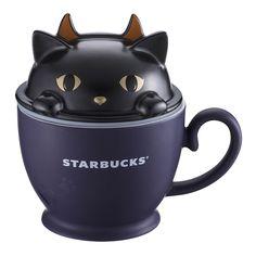Taiwan Starbucks 2018 Halloween black cat hide & seek mug Starbucks Halloween, Halloween Cat, Starbucks Thailand, Starbucks Specials, Starbucks Mugs, Starbucks Products, New China, Kids Bedroom Sets, Mugs For Men
