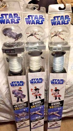 3 NEW IN BOX Star Wars Luke Skywalker's 2 X-Wing Vehicle 3D Kite/ 1tie fighter  #JakksPacicic