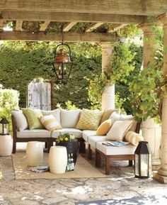 Backyard design ideas for your home. Landscaping, decks, patios, and more. Build the perfect outdoor living space Outdoor Rooms, Outdoor Gardens, Outdoor Living, Outdoor Furniture Sets, Outdoor Decor, Outdoor Seating, Furniture Ideas, Outdoor Sectional, Outdoor Lounge