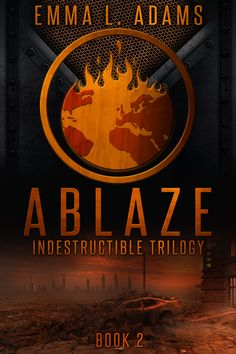 Dystopia Adventure Post-Apocalyptic book cover design, Deranged Doctor Design