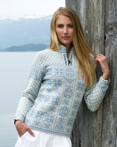 Shop Dale of Norway Norwegian sweaters and knitwear for women. Made in Norway since Check out the collection in our webshop. Wool Sweaters, Black Sweaters, Sweaters For Women, Knitting Sweaters, Sweater Fashion, Men Sweater, Fair Isle Knitting, Knitwear, Knit Crochet