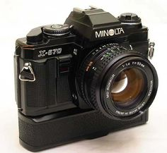 The Rokkor Files - The Minolta X-570 / X-500 with Motor Drive 1.