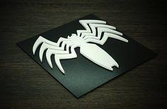 Artículos similares a Superhero Venom, Wall art, Kids bedroom wall art en Etsy