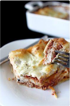 Lasagne au thon et ricotta  Super bon à refaire