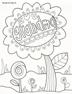 Holiday Coloring Pages From Doodle Art Alley