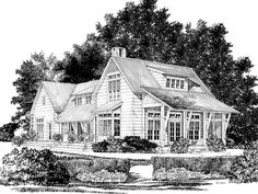 Eplans Country House Plan - Hampstead Place from The Southern Living