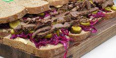 Pastrami Sandwiches Recipe - Lifestyle FOOD