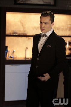"""GOSSIP GIRl-- """"Monstrous Ball"""" -- image GO605B_0360 Pictured: Ed Westwick as Chuck Bass -- Photo: Giovanni Rufino/The CW © 2012 The CW Network. All Rights Reserved."""