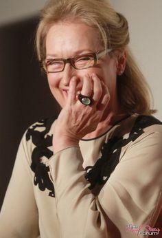Laughing eyes... Meryl Streep