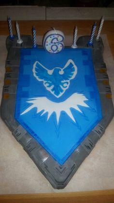 Nexo Knights Cake Clay Shild