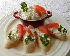 Pomazánka z camembertu Fresh Rolls, Treats, Chicken, Cooking, Ethnic Recipes, Food, Sweet Like Candy, Meal, Kochen