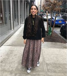 Ganni street style | Bianca Valle | Tilden Mesh Maxi Dress