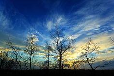Autumn Sunset by Bill Caldwell -        ABeautifulSky Photography