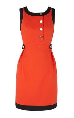 Karen millen shirt dress White $ Orange DL057_Karen Millen_Dresses_zozbuy - Karen Millen dress & shoes & bag &sport goods & more at low prices