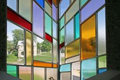 mod stained glass