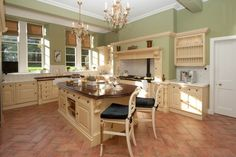 Watch your Chef at work in our country kitchen Our Country, Country Kitchen, High End Kitchens, Turin, Kitchen Island, Castle, Watch, House, Home Decor