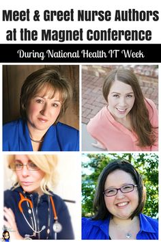 Meet and Greet Nurse Authors at the Magnet Conference during National Health IT Week