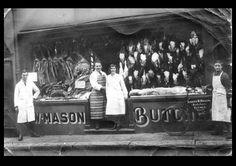1930s butcher shop
