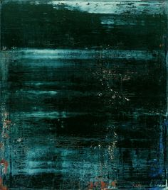 gerhard richter - abstract painting, lake