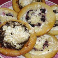 Recept : Svatomartinské koláčky | ReceptyOnLine.cz - kuchařka, recepty a inspirace Bagel, Doughnut, Acai Bowl, Sushi, Muffin, Bread, Dishes, Breakfast, Ethnic Recipes