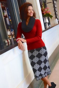 "Alice Sweater Skirt | 26"" Skirt 