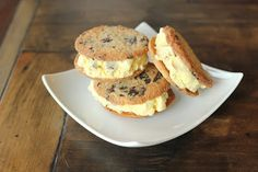 Paleo Low Carb Cookie and recipe to make it ice cream sandwich Paleo style at bottom