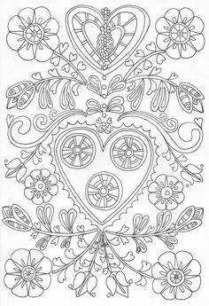 Scandinavian Coloring Book Pg 27