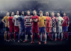 Nike Football | New National Home Kits