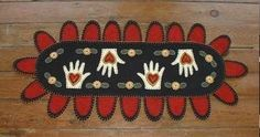 penny rugs history | Penny Rug Patterns - HEARTS AND HANDS PENNY RUG (Powered by CubeCart)